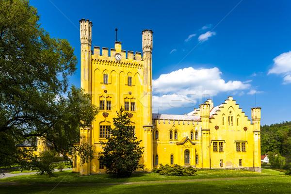 palace Nectiny, Czech Republic Stock photo © phbcz