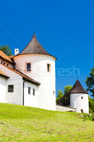 牙城 チェコ共和国 建物 アーキテクチャ ヨーロッパ 歴史 ストックフォト © phbcz
