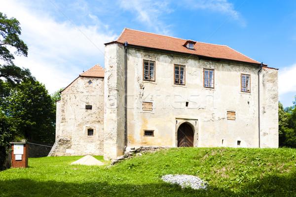 ストックフォト: 牙城 · チェコ共和国 · 建物 · アーキテクチャ · ヨーロッパ · 屋外