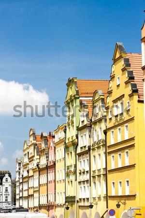 Plac Ratuszowy Square, Jelenia Gora, Silesia, Poland Stock photo © phbcz