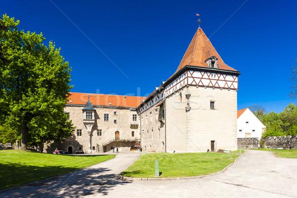 Budyne nad Ohri Palace, Czech Republic Stock photo © phbcz