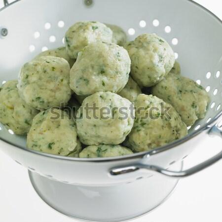 herb dumplings Stock photo © phbcz