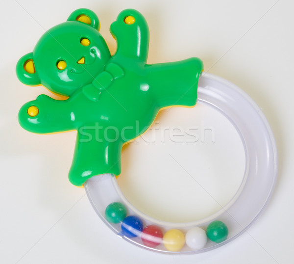 Stock photo: rattle toy