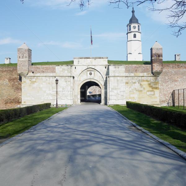 Fortezza Belgrado Serbia costruzione architettura storia Foto d'archivio © phbcz