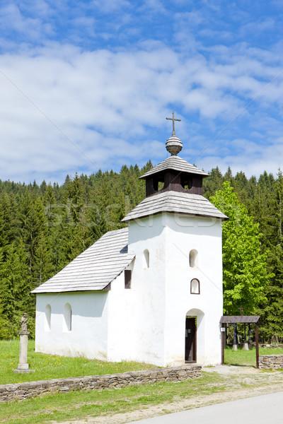 Церкви музее деревне Словакия здании Сток-фото © phbcz