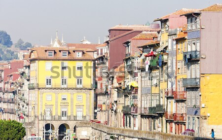quarter of Ribeira, Porto, Portugal Stock photo © phbcz