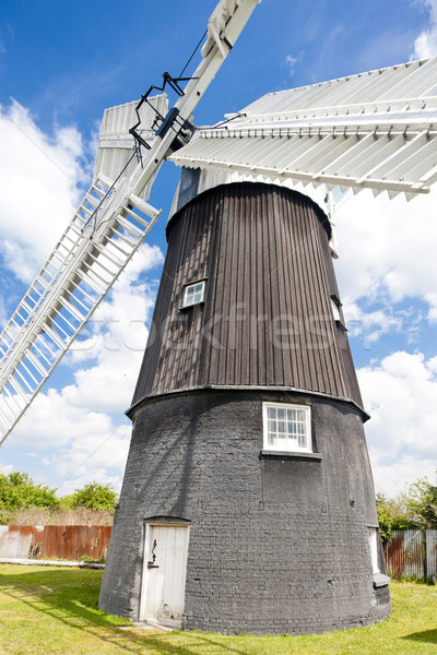 Wicken Windmill, East Anglia, England Stock photo © phbcz