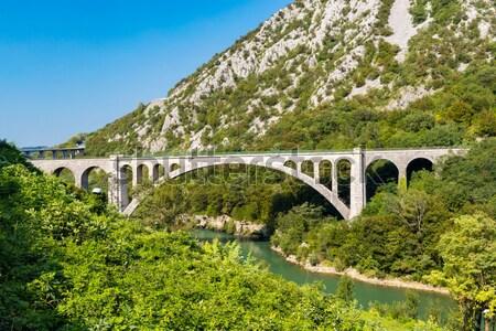 Pont Julien, Provence, France Stock photo © phbcz