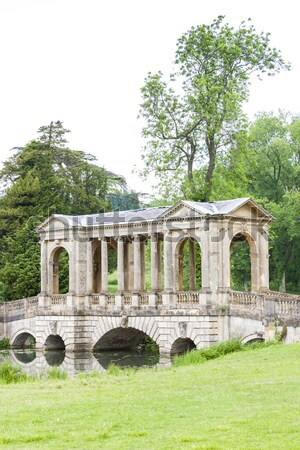 Palladin Bridge, Stowe, Buckinghamshire, England Stock photo © phbcz