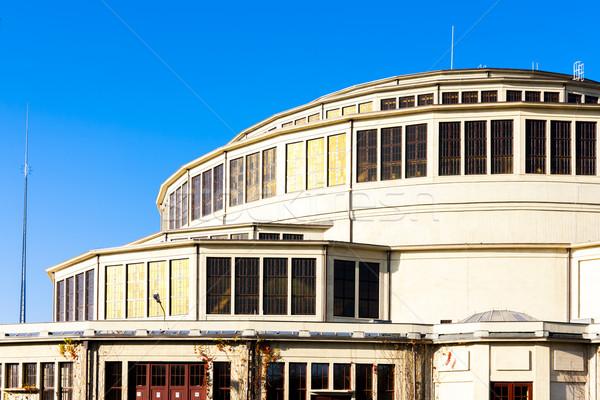 Salle Pologne bâtiment Voyage architecture Europe Photo stock © phbcz