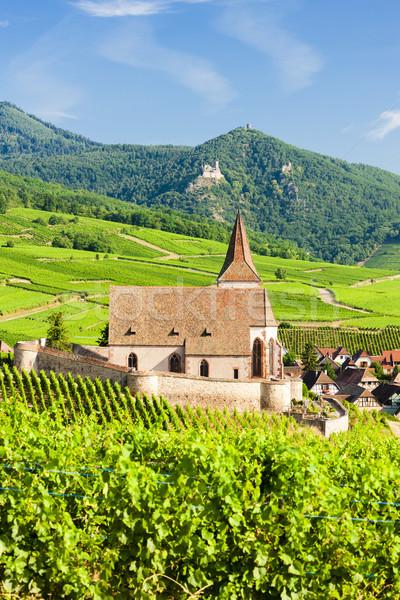 Hunawihr, Alsace, France Stock photo © phbcz