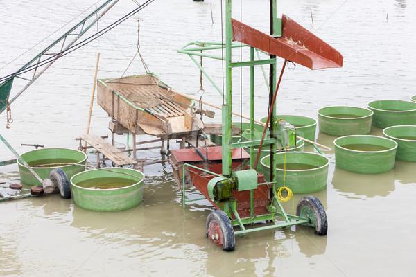 収穫 池 タンク オブジェクト ストックフォト © phbcz