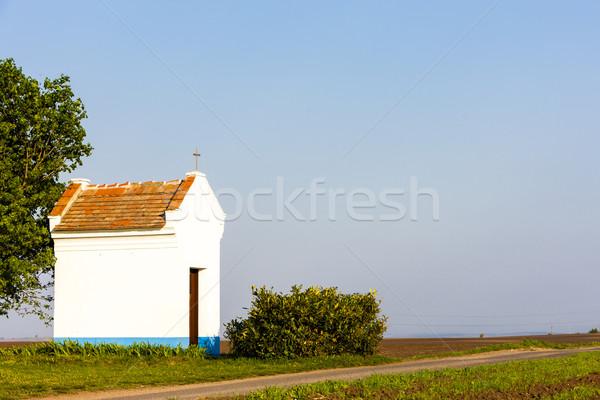 chapel near Stary Poddvorov, Czech Republic Stock photo © phbcz