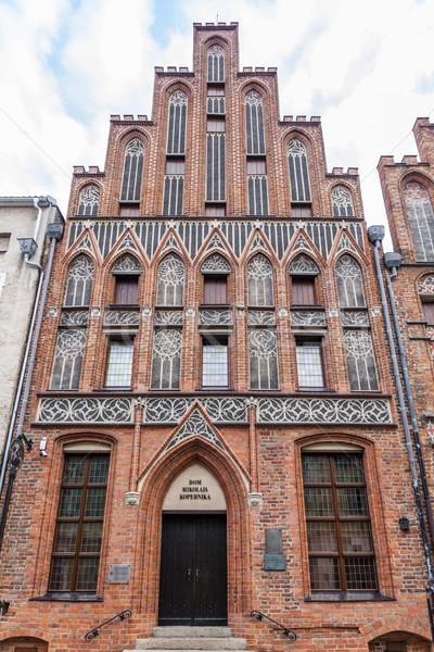 Copernicus House, Torun, Kuyavia-Pomerania, Poland Stock photo © phbcz