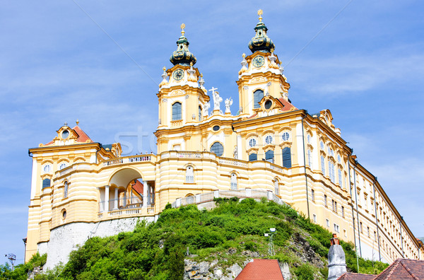 Convent Melk, Lower Austria, Austria Stock photo © phbcz