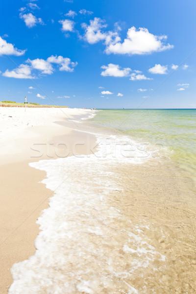 Playa península Polonia mar verano Europa Foto stock © phbcz