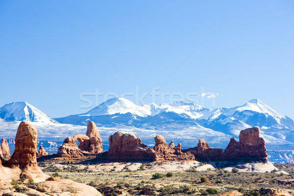Parc la montagnes Utah USA paysage Photo stock © phbcz