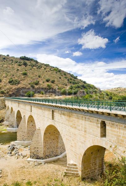 bridge over Sabor River, Douro Valley, Portugal Stock photo © phbcz