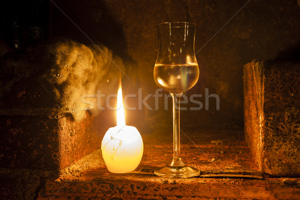 still life in wine cellar Stock photo © phbcz