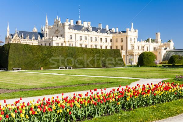 宮殿 庭園 チェコ共和国 建物 旅行 アーキテクチャ ストックフォト © phbcz