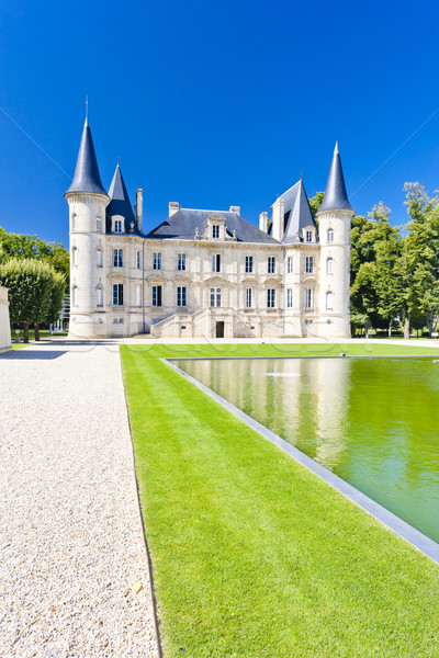 Chateau Pichon Longueville, Bordeaux Region, France Stock photo © phbcz