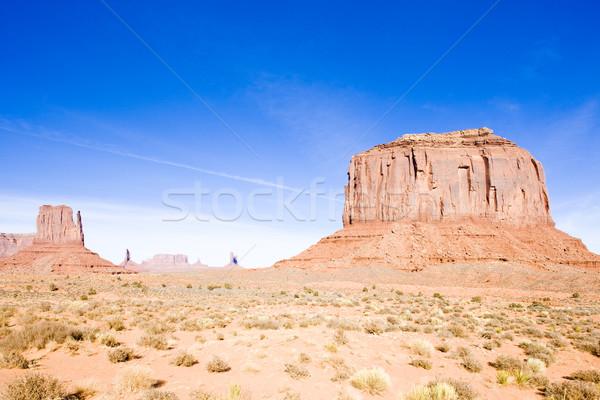 Valle parco USA viaggio rock paesaggi Foto d'archivio © phbcz