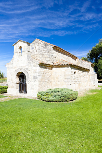 Church of San Juan Bautista, Banos de Cerrato, Castile and Leon, Stock photo © phbcz