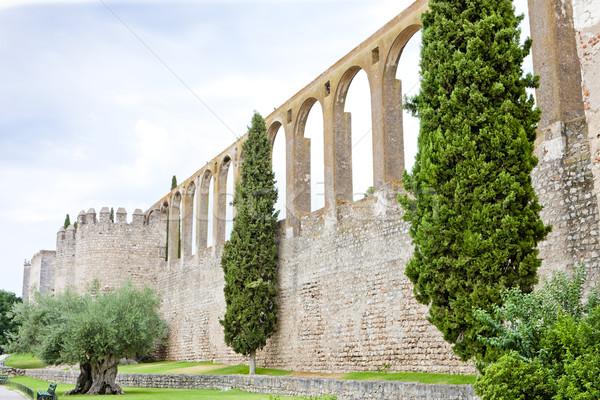 Portugal gebouw reizen architectuur geschiedenis stad Stockfoto © phbcz