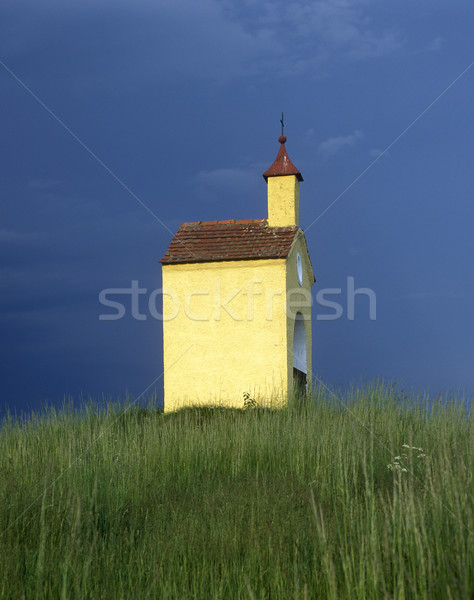 chapel near Liba, Czech Republic Stock photo © phbcz