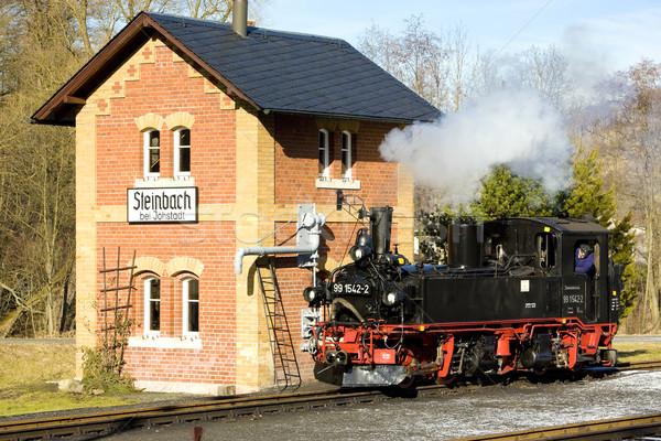 Voyage transport vapeur extérieur extérieur Photo stock © phbcz