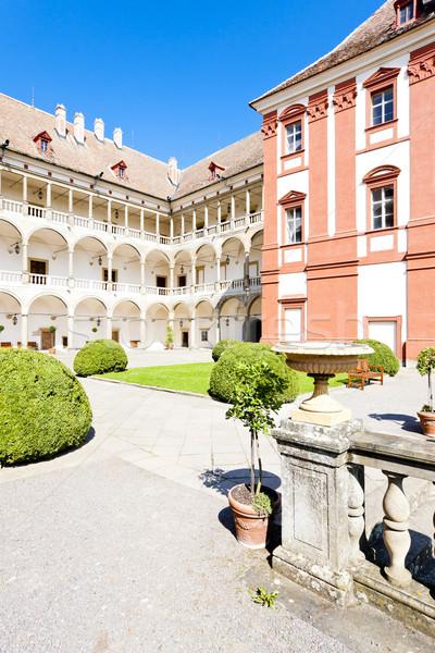 Opocno Palace, Czech Republic Stock photo © phbcz