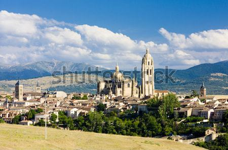 Segovia, Castile and Leon, Spain Stock photo © phbcz
