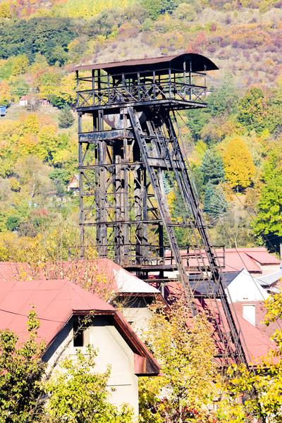 old mining tower, Kremnice, Slovakia Stock photo © phbcz