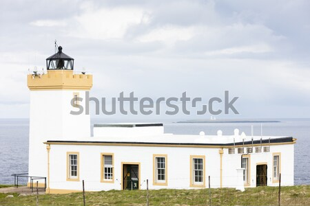 Ducansby Head Lighthouse, Highlands, Scotland Stock photo © phbcz