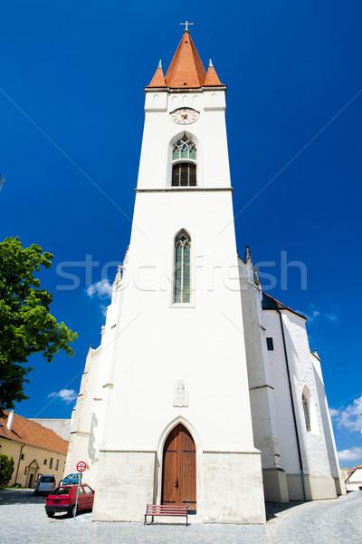 Church of Saint Nicholas, Znojmo, Czech Republic Stock photo © phbcz