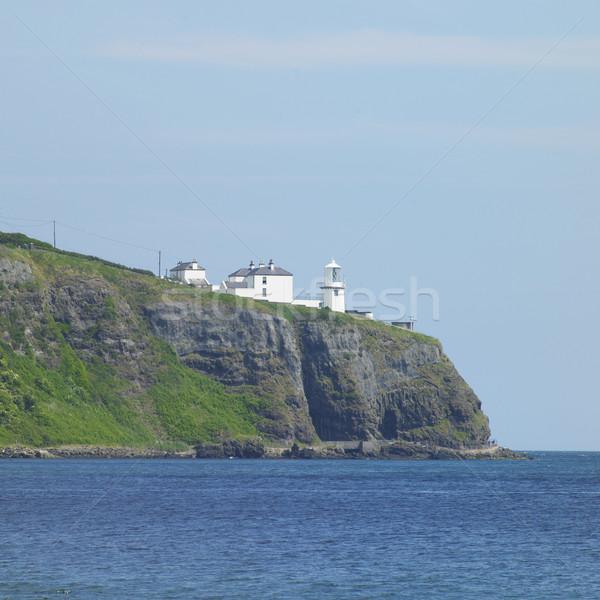 lighthouse, Black Head, Northern Ireland Stock photo © phbcz