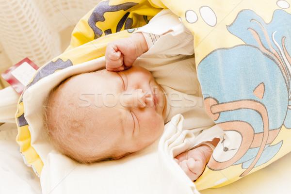 Ritratto materna ospedale ragazza Foto d'archivio © phbcz