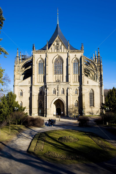 Cathedral of St. Barbara, Kutna Hora, Czech Republic Stock photo © phbcz