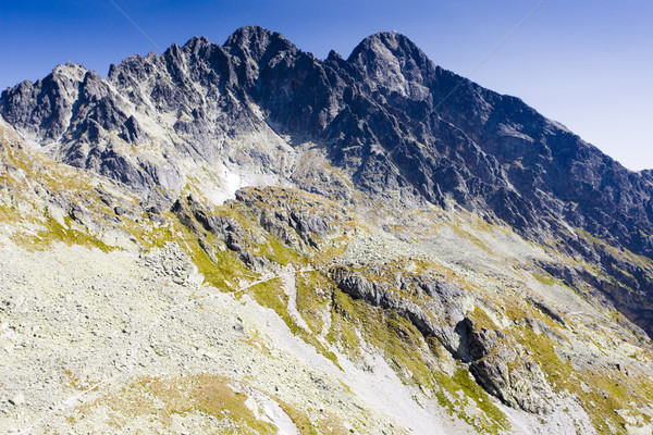 Kloof hoog berg reizen bergen park Stockfoto © phbcz
