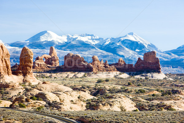 Parque montanas Utah EUA paisaje Foto stock © phbcz