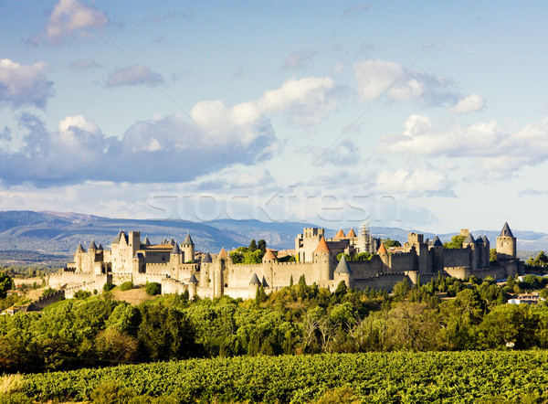Carcassonne, Languedoc-Roussillon, France Stock photo © phbcz