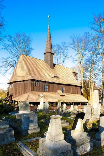 Церкви святой девственница Чешская республика Сток-фото © phbcz