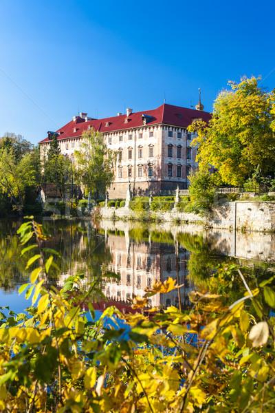 宮殿 チェコ共和国 建物 旅行 秋 アーキテクチャ ストックフォト © phbcz