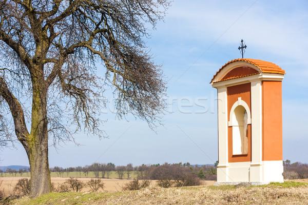 Işkence bölge Çek Cumhuriyeti ağaç mimari Stok fotoğraf © phbcz