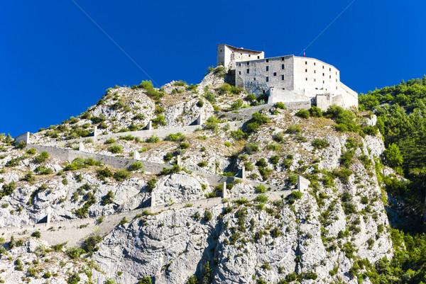 крепость Франция путешествия архитектура Европа улице Сток-фото © phbcz