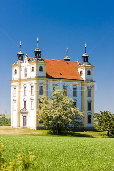Peregrinação capela tcheco República Checa igreja Foto stock © phbcz
