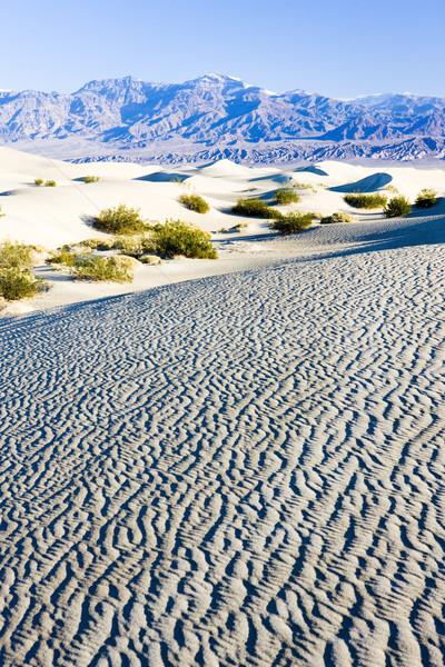 Kum ölüm vadi park Kaliforniya ABD Stok fotoğraf © phbcz