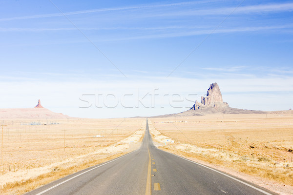 Carretera Arizona EUA rock paisajes rocas Foto stock © phbcz