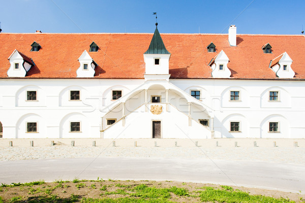 renaissance water mill, Slup, Czech Republic Stock photo © phbcz