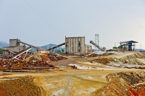 copper mine, Minas de Riotinto, Andalusia, Spain Stock photo © phbcz